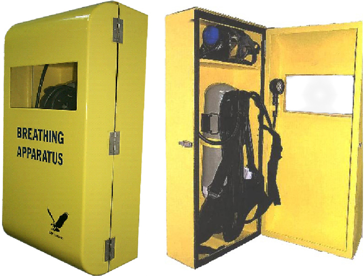Breathing Apparatus Storage Box Breathing air system Compressed